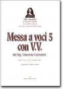 Messa a voci 5 con V.V. del sig. Giacomo Carissimi