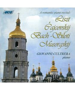 A romantic piano recital CD