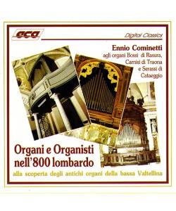 Organi e Organisti dell'800 lombardo CD