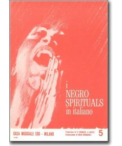 I negro spirituals in italiano 5