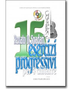 15 esercizi progressivi per 4 chitarre + CD
