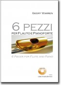 6 pieces for Flute and Piano + CD