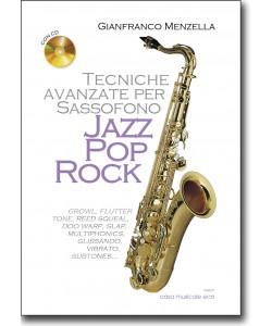 Tecniche avanzate per Sassofono jazz, pop, rock + CD