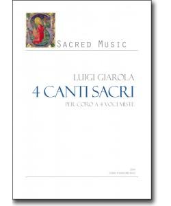 4 canti sacri