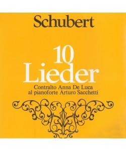 AUDIO: Schubert, 10 Lieder