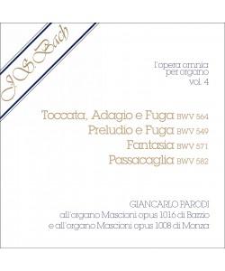 J.S. Bach - Opera Omnia per Organo, vol. 4