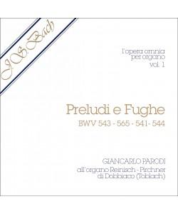 AUDIO: J.S. Bach - Opera Omnia per Organo, vol. 1