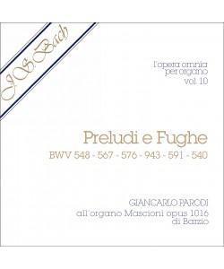 AUDIO: J.S. Bach - Opera Omnia per Organo, vol. 10
